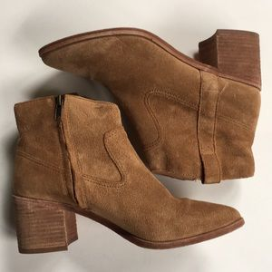 EUC Madewell leather boots